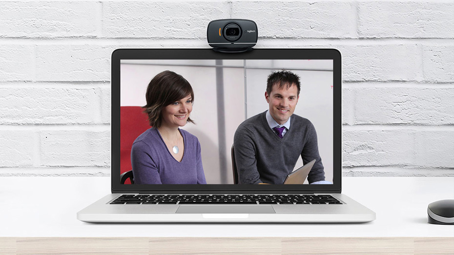B525 HD Webcam - High Quality Image and Sound